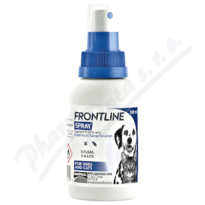 Frontline spray 2.5mg/ml kožní sprej roztok 100ml