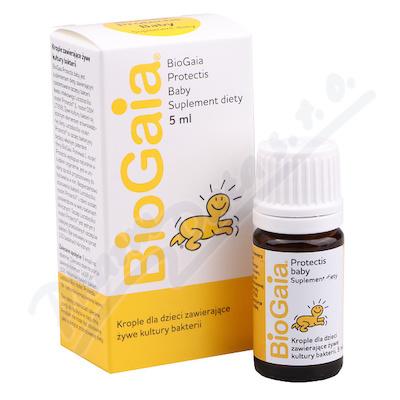 Probiotic.kapky pro děti BioGaia 5ml Protectis Bab