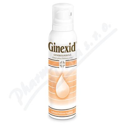 GINEXID gynekologická čisticí pěna 150 ml