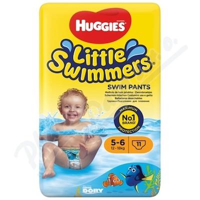 HUGGIES Little Swimmers vel.5-6 / 12-18kg 11ks