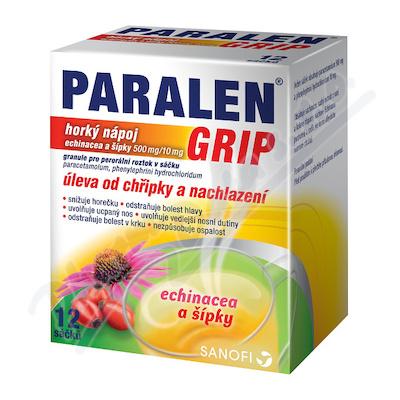 Paralen Grip horký Echin+šípky por.gra.sol.scc.12