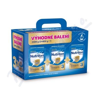 Nutrilon 3 Pronutra 3x800g BiB Výhodné balení