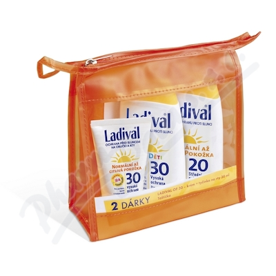 LADIVAL OF30 děts. + OF20 lotion + combi 2v1 ORANŽ