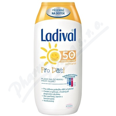 LADIVAL Děti OF50+ MLE 200ml