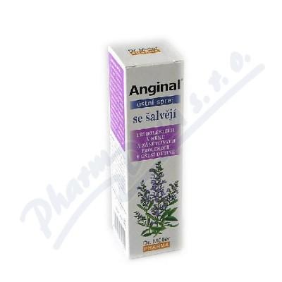 Anginal ústní sprej se šalvějí 30ml