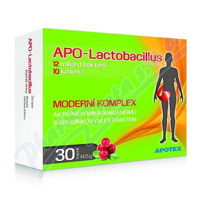 APO-Lactobacillus 10+ cps.30