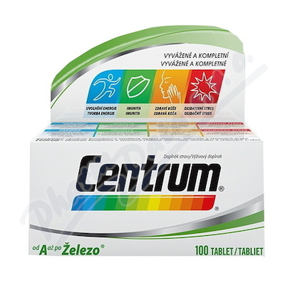 Multivitamin Centrum AZ 100tbl